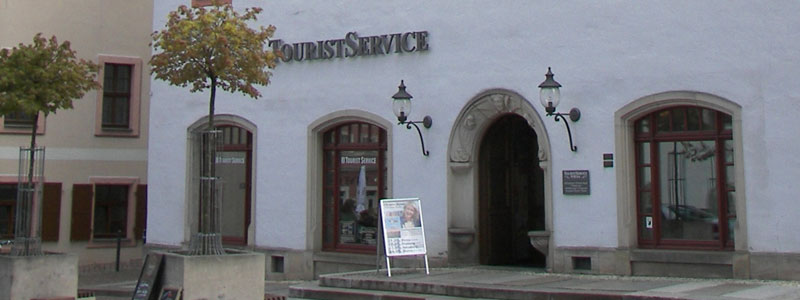 Touristinformation in Pirna